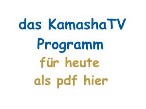 Button KamashaTV Programm Akademie