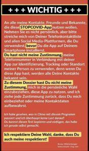 app hinweis
