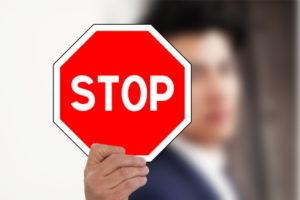 Stopp für Test