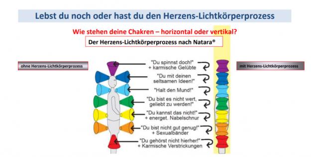 Chakren und ihre Bedeutung für die Veränderung beim Herzens-Lichtkörperprozess