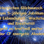 5 Jahre CF energetic Akademie